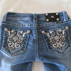 Miss Me jeans Cuffed Capri's Size 27